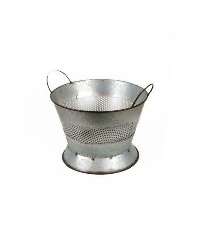 Galvanized Metal Colander Basket