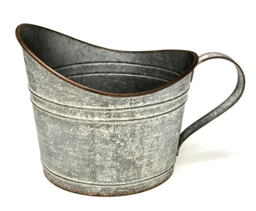 Metal Bean Scoop Bucket