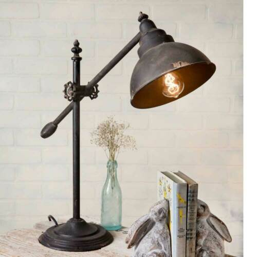 Adjustable Swing Arm Metal Lamp
