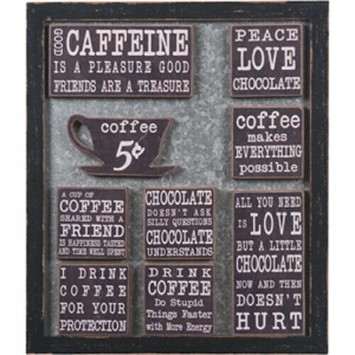 Wall Message Board Coffee & Chocolate Magnets