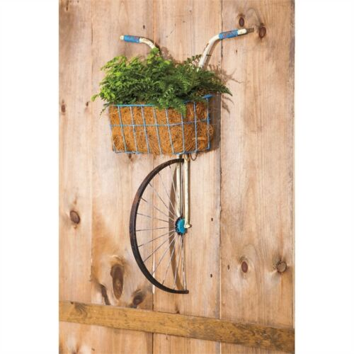 Wall Basket Bicycle Planter