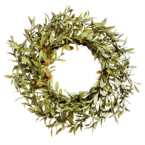 "24"" Artificial Green Eucalyptus Wreath"