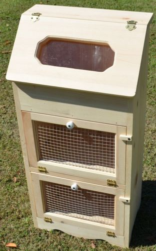 Bread Box 2 Door Vegetable Bin