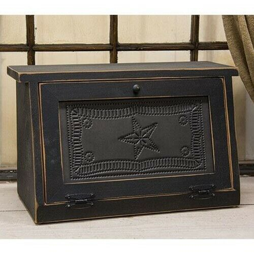 Black Bread Box Primitive Star