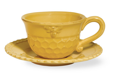 Honey Bee Teacup & Saucer