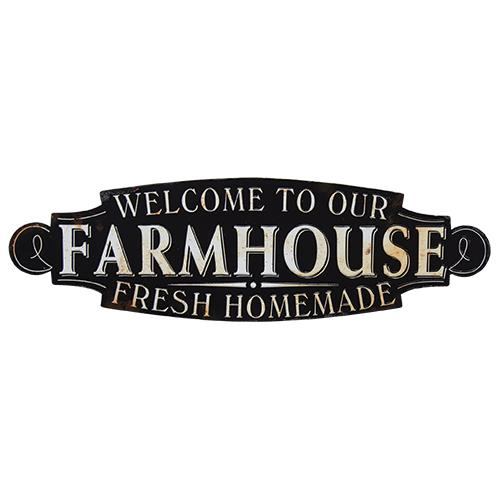Welcome To Our Farmhouse Sign Fresh Homemade